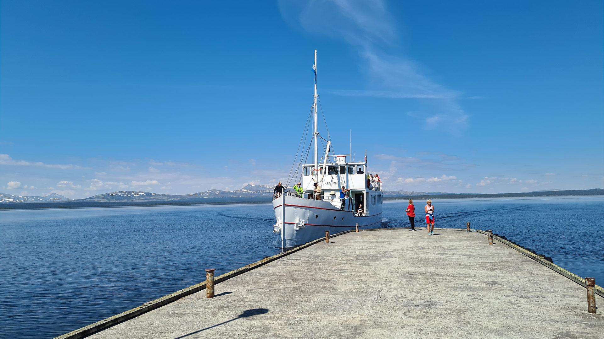 The boat Fæmund II.