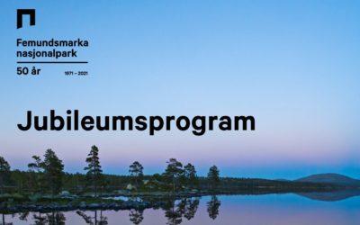 Jubileumsprogram Femundsmarka 50 år
